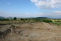 Thracian town center with a royal residence