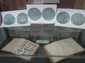 """The exhibition """"Numismatic books in  Archaeological museum Plovdiv"""""""