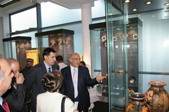 "An exhibition from Greece - ""Leaving a Mark on History. Treasures from Greek Museum"""