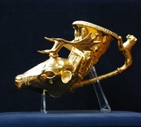 A head of a deer from the Panagyurishte Golden Treasure
