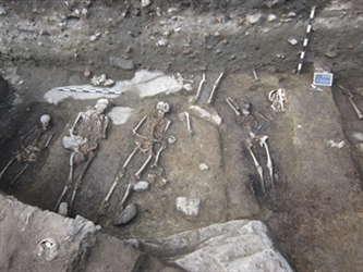 A great Necropolis was discovered on the Rilski Metoh Str., Plovdiv